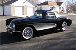 1957 Corvette Convertible with a 283 Fuelie