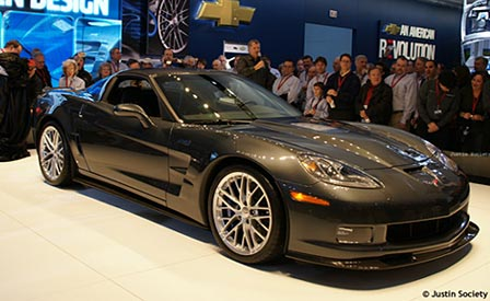 The 2009 Corvette ZR1