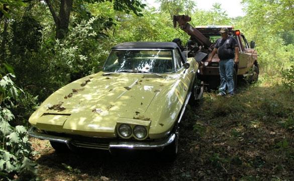 Stolen Corvette and Camaro Located in Arkansas
