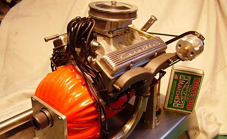 1/6th Scale Corvette V8 Engine