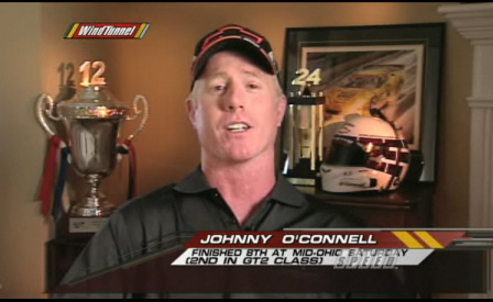 Corvette Racing's Johnny O'Connell Interview From SPEED's Wind Tunnel