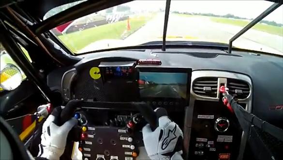 [VIDEO] Tommy Milner's Corvette C6.R Helmet Cam