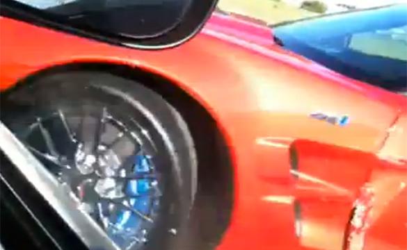 [FAIL] Corvette ZR1 Hits a Chrysler 300 SRT8