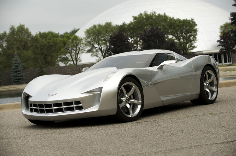 Jalopnik Reviews The Transformers Corvette Stingray Concept