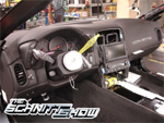 A Corvette ZR1 on the Assembly Line