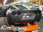 A Corvette ZR1 on the Assembly Line