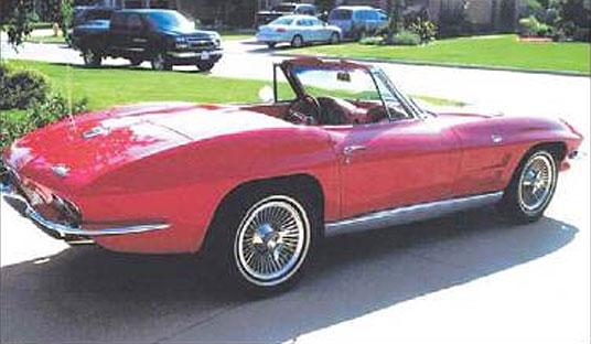 1964 Corvette Stolen During Woodward Dream Cruise