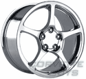 Chrome Corvette Wheels