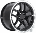Black Corvette Wheels