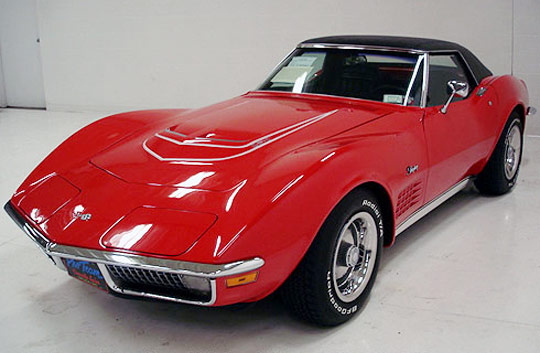 1970 Corvette Convertible with LT-1 V8