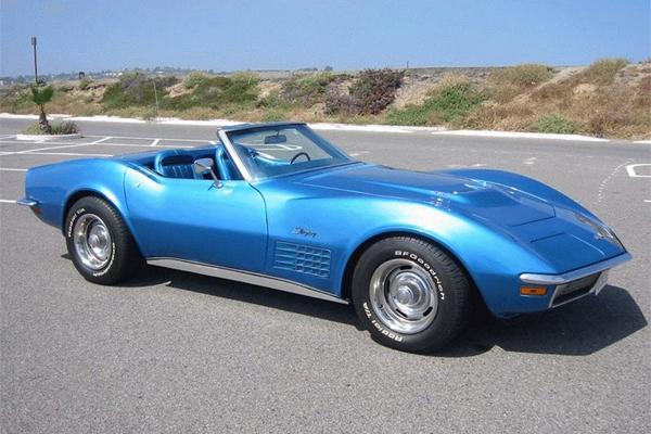 2007 corvette last year for le mans blue corvette Les convertibles