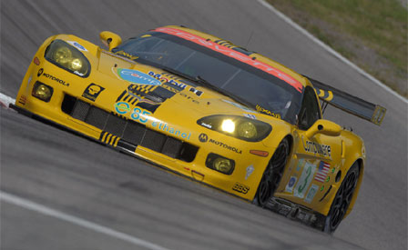 The #3 Corvette C6.R Captures The Pole at Mosport