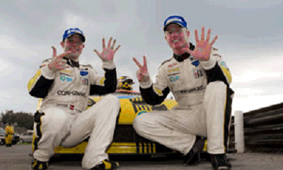 Jan Magnussen and Johnny O'Connell Win Their Seventh Race of the Year at Mosport