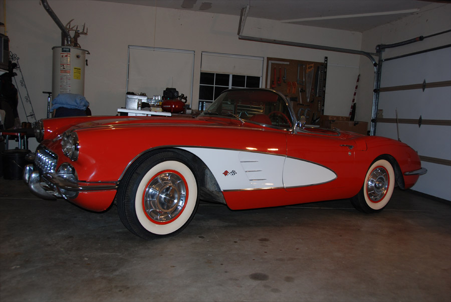 Corvette Values 1958 Roadster