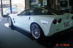 Arctic White 2010 Corvette ZR1