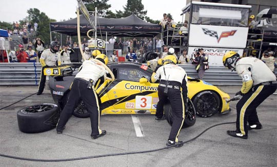 Corvette Racing to Rock Toronto Financial District