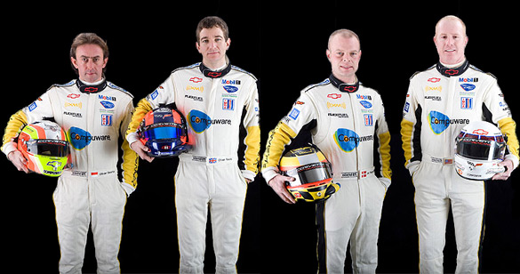 Corvette Racing Realigns Driver Lineup for Mosport ALMS
