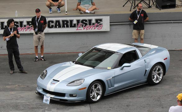 Corvettes at Carlisle: GM Shows Off New GCA W