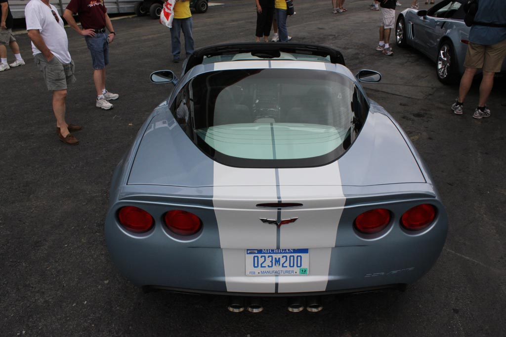 Corvettes at Carlisle: GM Shows Off New GCA Wheels and Stripes