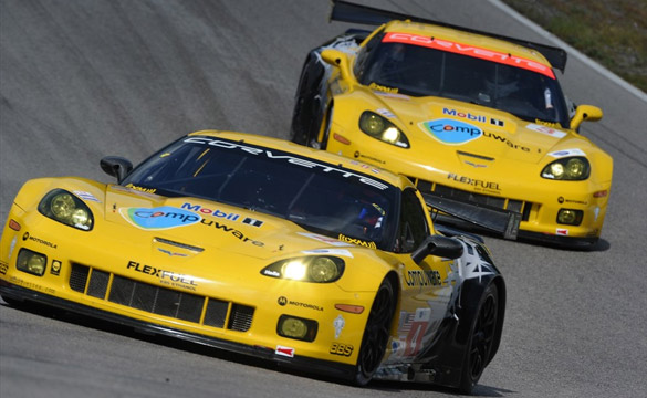 Corvette Racing Qualifies One-Two in Road America
