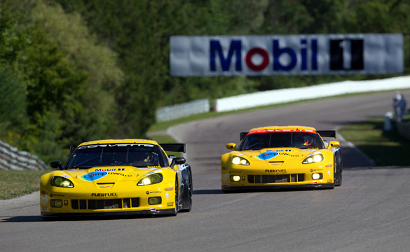 Corvettes Finish Fourth and Fifth in Abbreviated Mosport ALMS