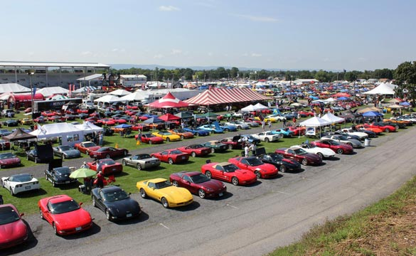 Registration is Open for 2012 Corvettes at Carlisle