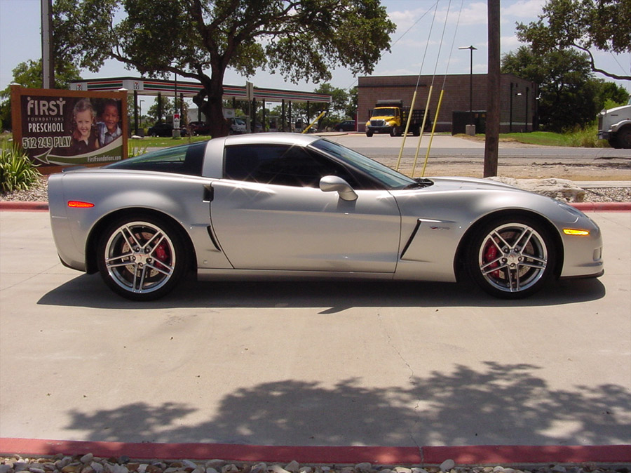 Corvettes On Ebay Adrien Brody S 2006 Corvette Z06