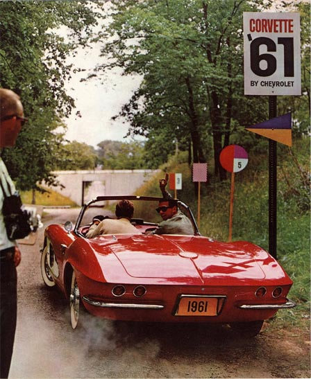 1961 Corvette Catalog Shoot