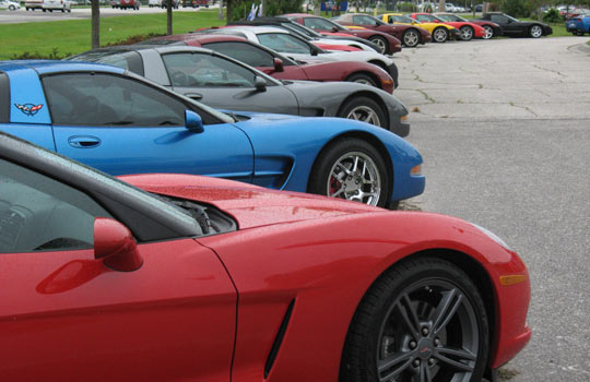 National Corvette Caravan Stops in Tampa