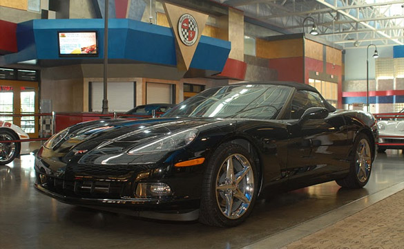 Corvette Museum Offers $10 Raffle for 2011 Black Convertible