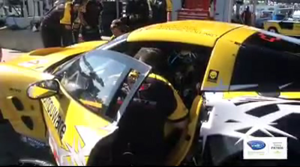 [VIDEO] Corvette Racing's Beretta and Fehan Discuss Driver Change at Mosport