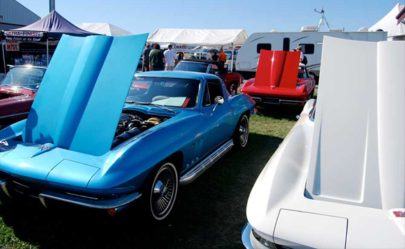 Huge Corvettes at Carlisle Photo Gallery
