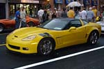 Corvettes at Carlisle: Downtown Parade