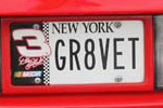 Corvette Vanity License Plates from Corvettes at Carlisle