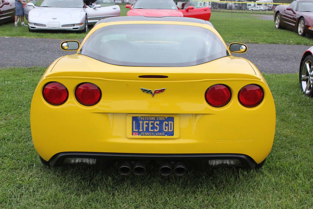 Corvette Vanity License Plates From Corvettes At Carlisle Corvette Sales News Lifestyle