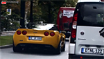 2009 Corvette ZR1 on the Autobahn