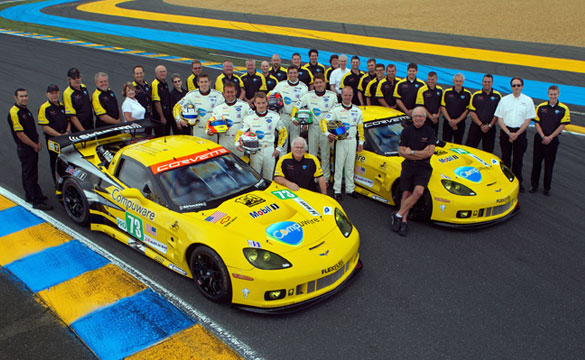 Vote Corvette Racing for the ALMS 'From the Fans' Award