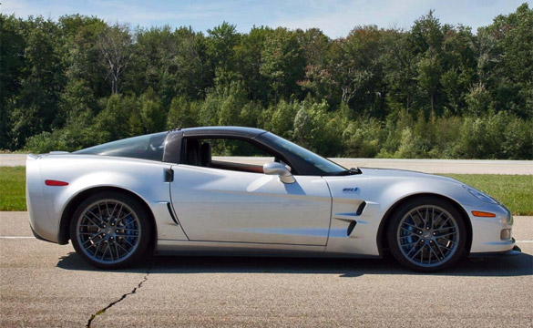 Corvette ZR1 Raffle to Benefit Family of Fallen Cop