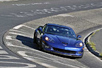 A 2006 Z06 Corvette at Nuerburgring