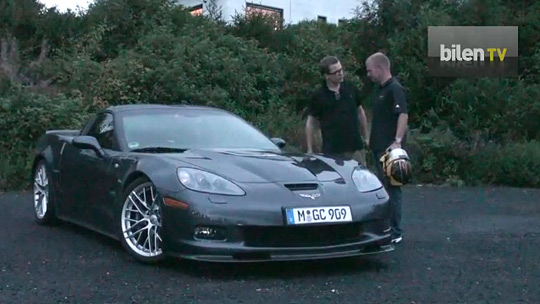 Jan Magnussen Attacks the Nurburgring in a Corvette ZR1