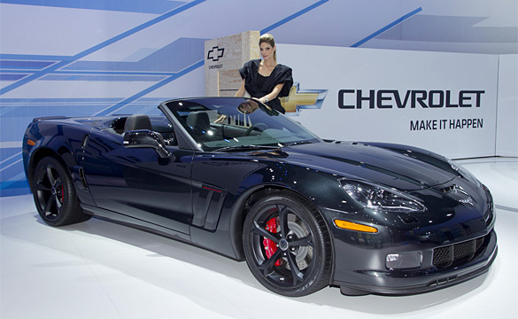 Corvettes on Display at 2011 Frankfurt Motor Show