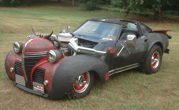 Corvettes on eBay: 1977 Rat Rod Custom Corvette Pickup