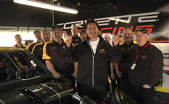 [VIDEO] Corvette Racing Series Episode 10: Team Effort