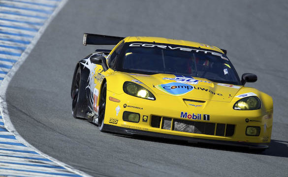 Corvette Racing Qualifies Second and Eighth for Laguna Seca ALMS