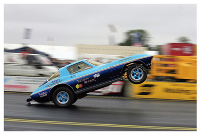 Corvette Wheelie