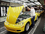 Corvettes on the Assembly Line