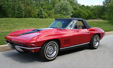 1967 Corvette Sold at Corvettes at Carlisle 2008