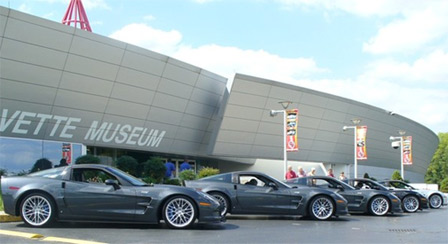 Hendricks Motorsports Corvette ZR1s