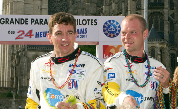 Vote for Corvette Racing's Gavin or Magnussen for ALMS Most Popular Driver
