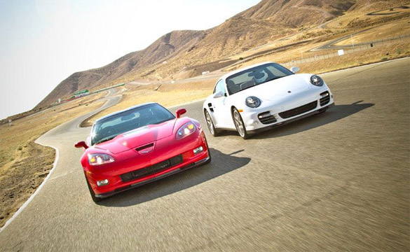 Motor Trend Compares Corvette ZR1 with Porsche 911